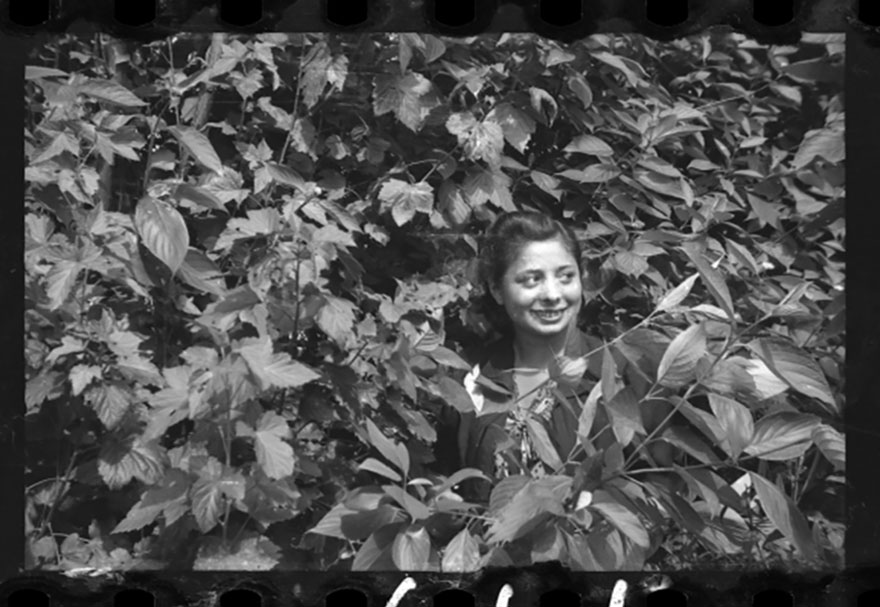 1940-1944: Young Girl Among The Greenery