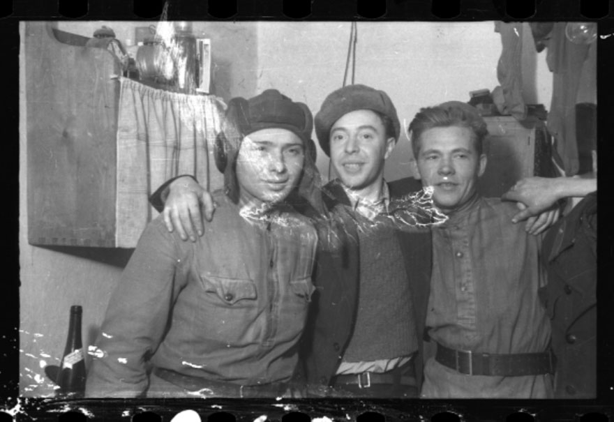 1945: Three Men After Liberation By The Red Army