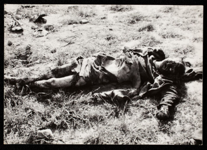1940-1944: Abandoned Body, Decomposing In Field
