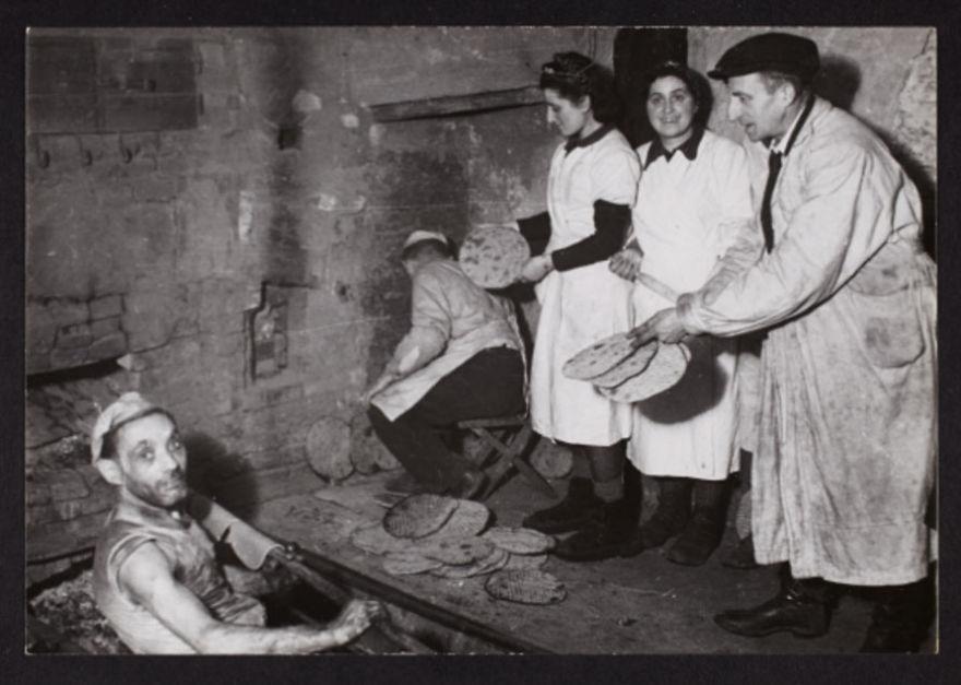 1940: Baking Flat Bread