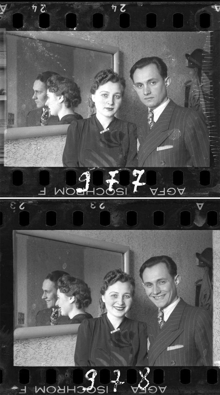 1940-1944: Retrato de una pareja
