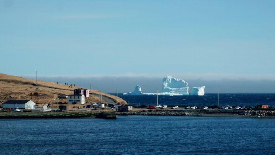 GIANT 150ft Iceberg Is Floating Past Canada, And It's 50ft Bigger Than The One That Sank Titanic