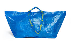 IKEA Responds To Balenciaga's $2,145 Bag That Looks Exactly Like IKEA's 99-Cent Tote Bag, And It's Hilarious
