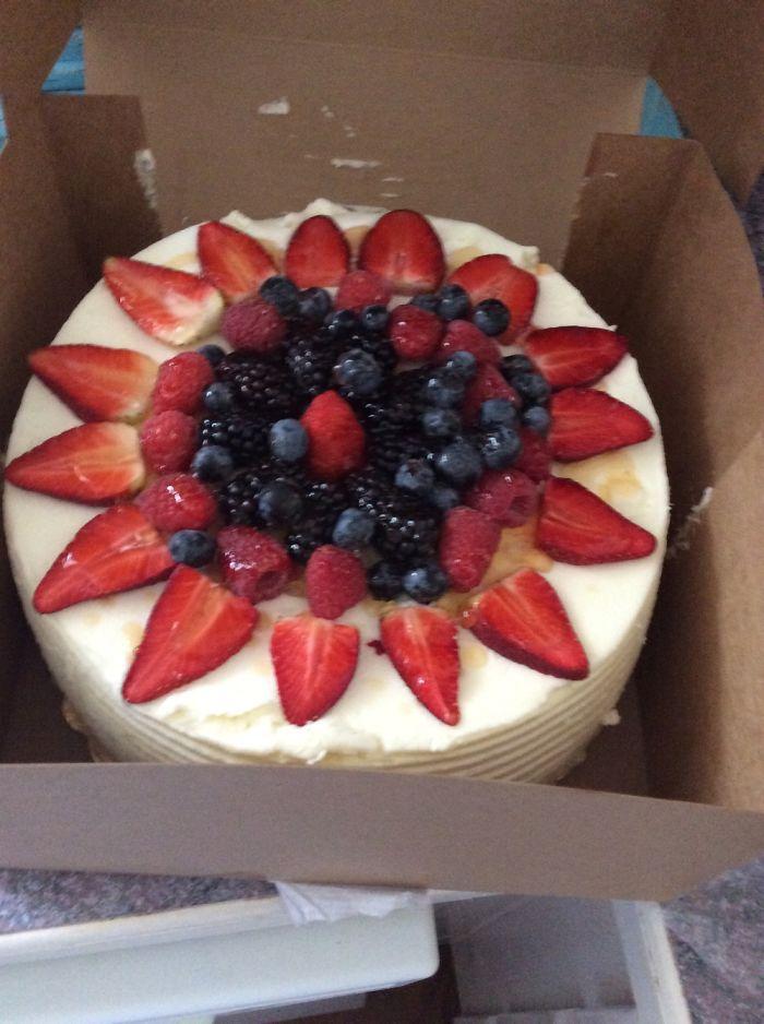 A Chantilly Cake