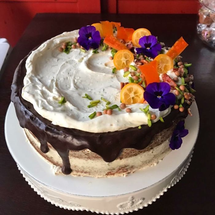 Carrot Cake Extraordinaire For My Mom