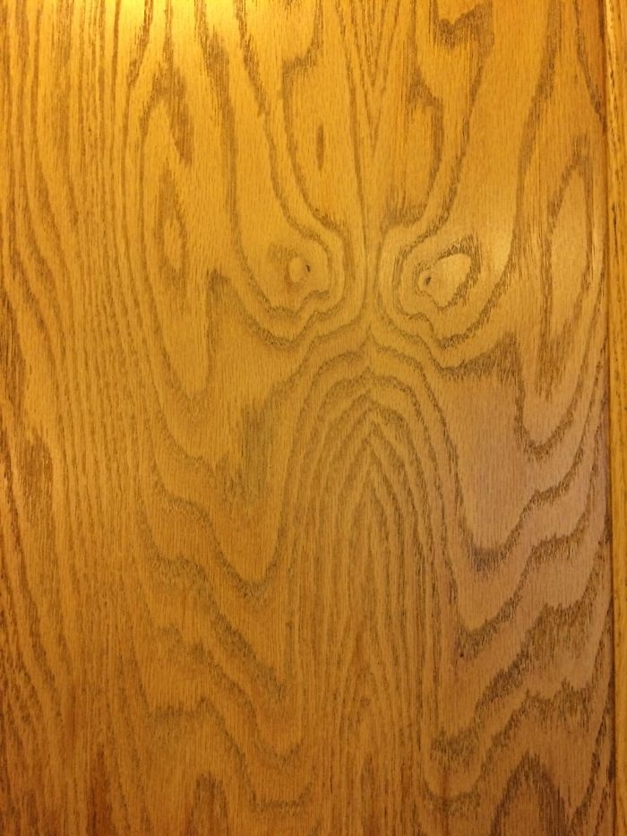 Scary Face In My Cabinet