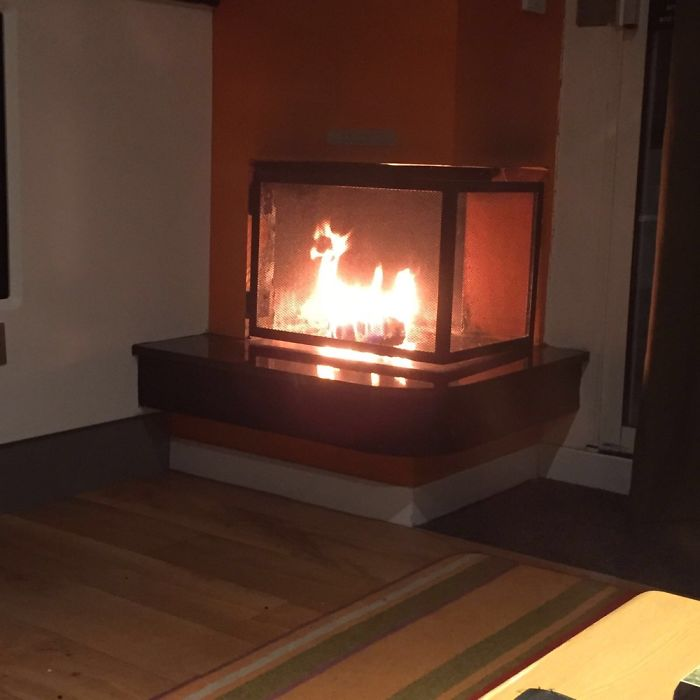 My Friends Fire, When She Went For A Weekend Get Away.