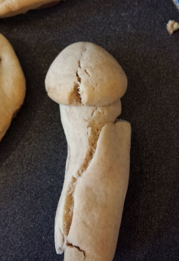 Mis hijos hicieron esta galleta pero nadie se la comió