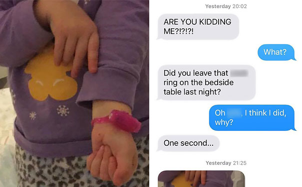 Girl Finds 'Cock Ring' On Aunty's Bedside Table, Wears It Like A Bracelet