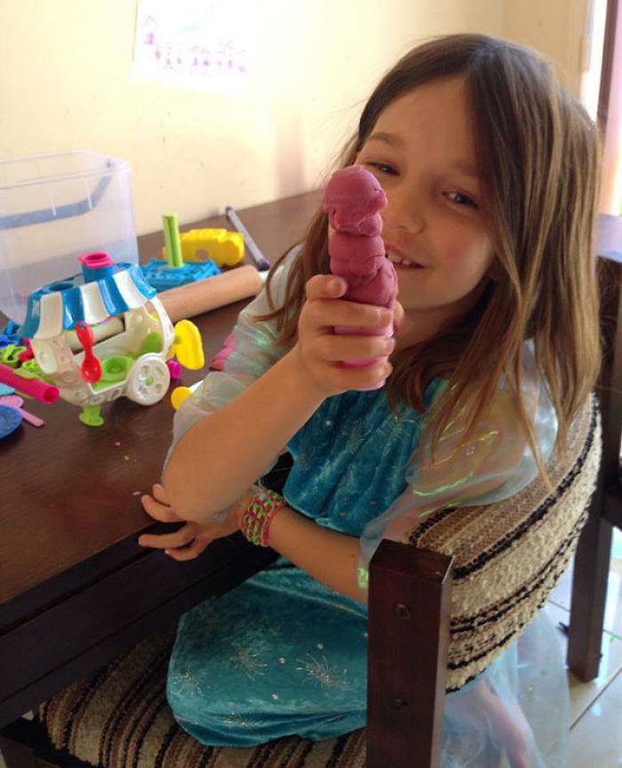 """""""Mira mamá, un helado"""""""