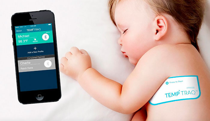 Intelligent Thermometer Sticker