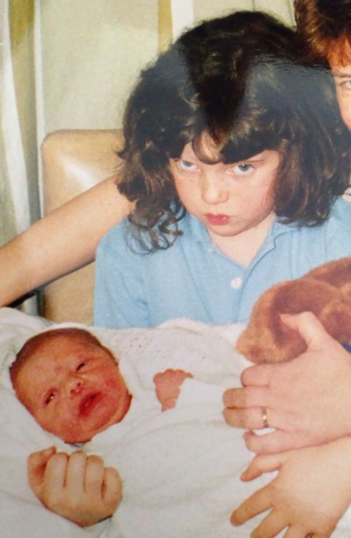 When U Realise Ur Not The Only Child Anymore