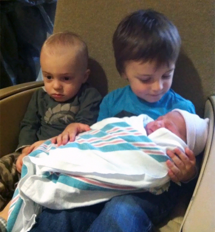 The Moment He Realized He Was Now The Middle Child