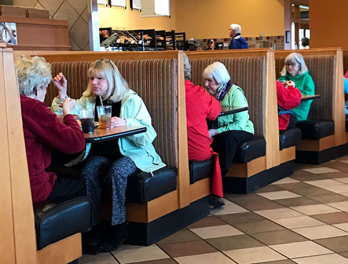 Each Booth Is An Alternate Reality