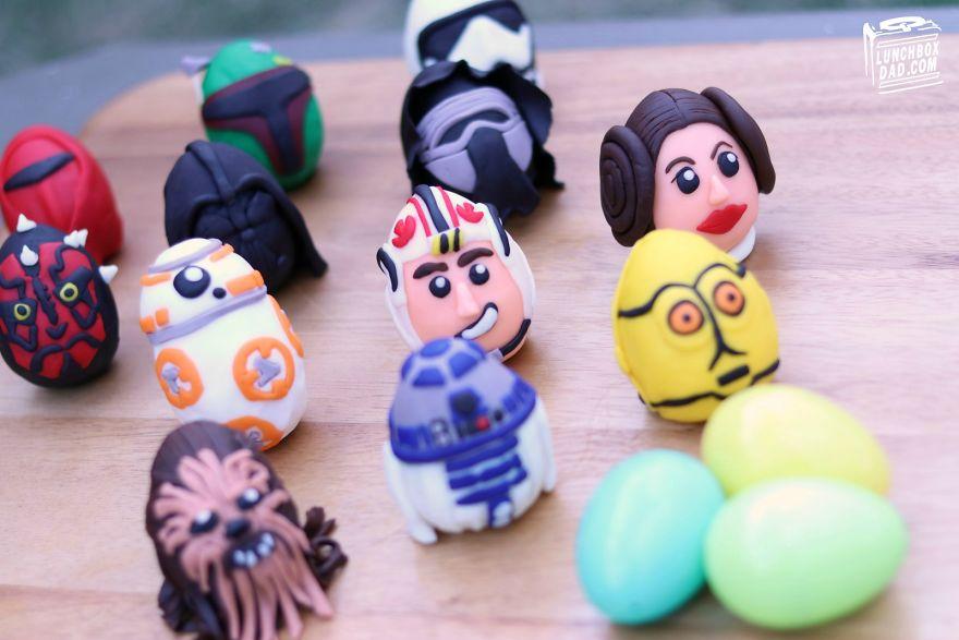 Edible Star Wars Easter Eggs