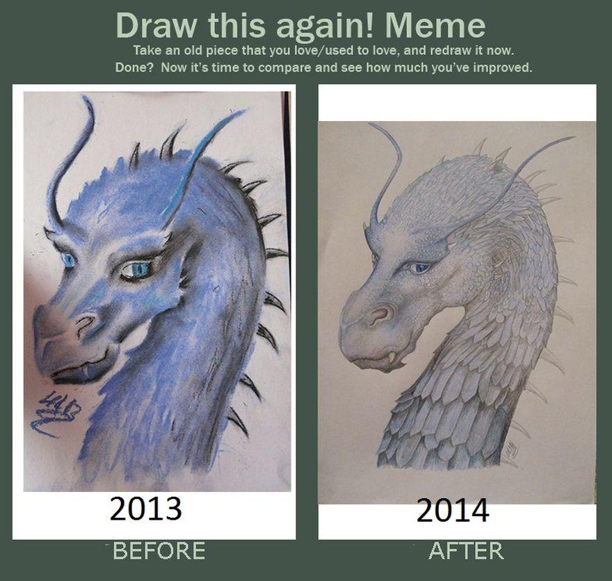 My Saphira Progress! By Rthyin