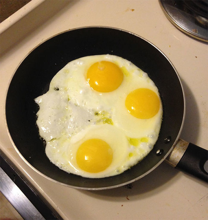 My Eggs Look Like A Pretty Lady