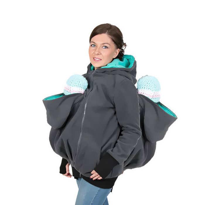 Babywearing Jacket Twins Maternity