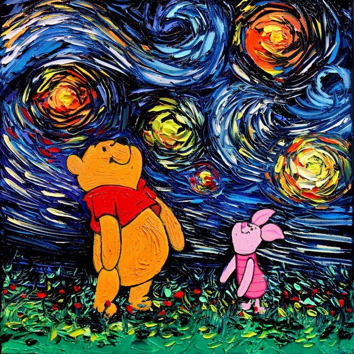 Winnie Pooh y Piglet