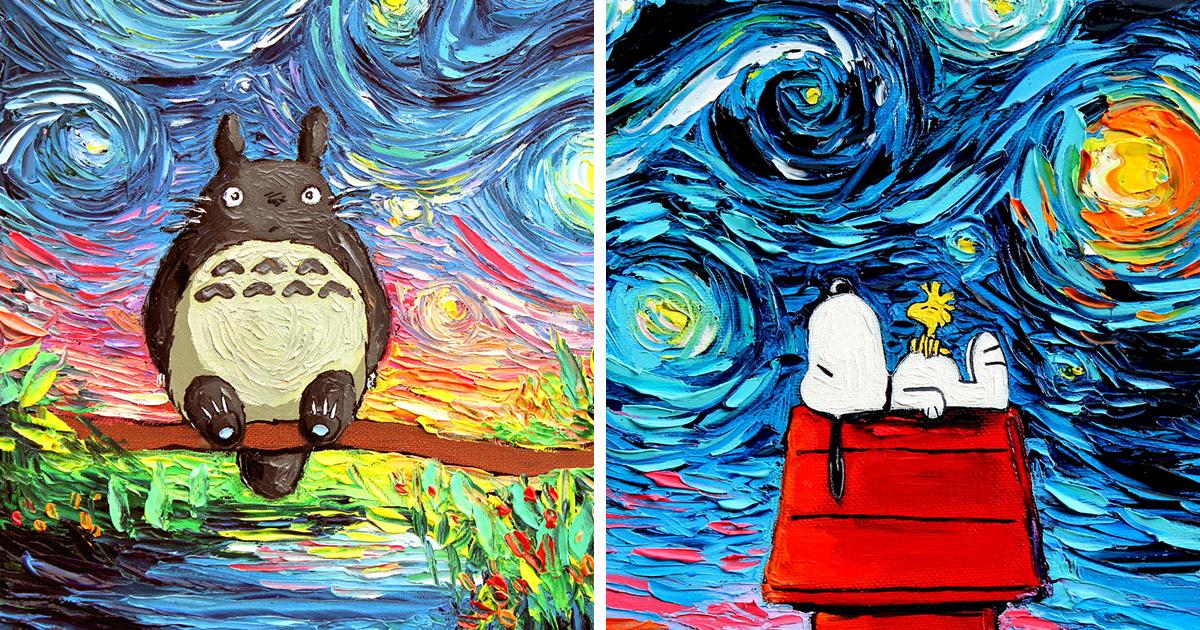 Una pintura de esta artista fue confundida con un van gogh for Pintura para estanques de peces