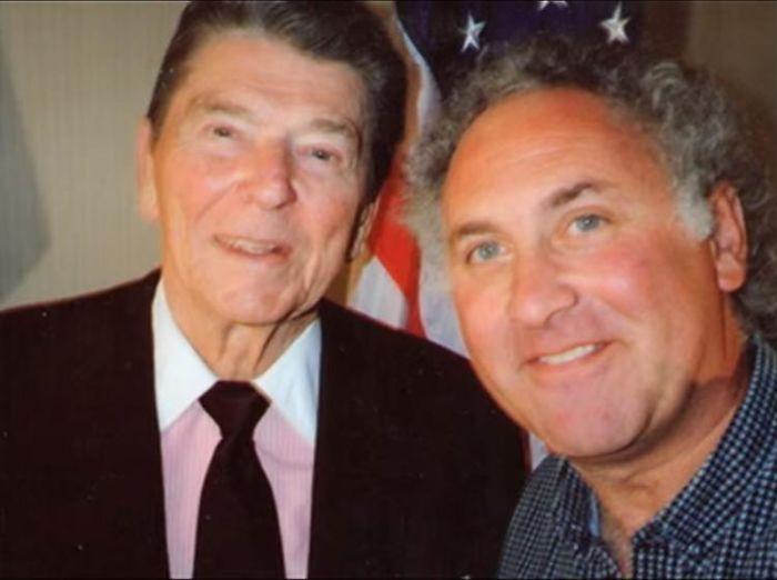 Ronald Reagan & Lester Wisbrod, 1980s