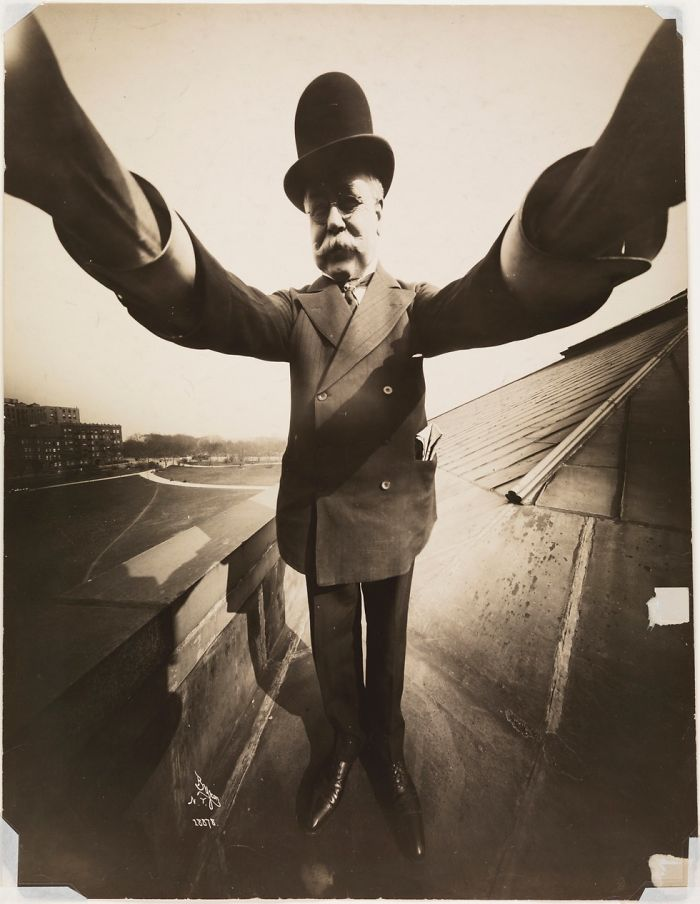 Self-Portrait By Photographer Joseph Byron, 1909