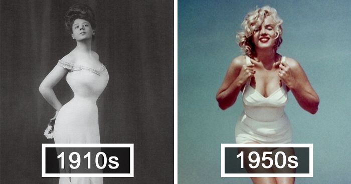 "How The ""Perfect"" Female Body Has Changed In 100 Years"