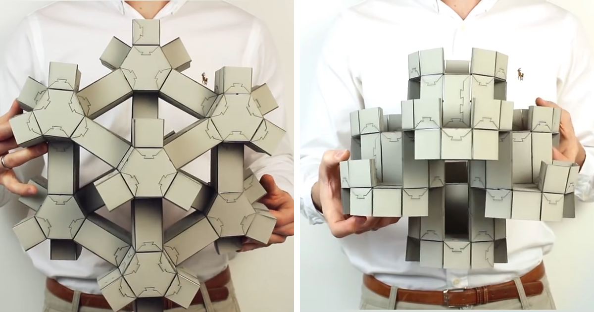This Shapeshifting Paper Puzzle Could Change The Way We