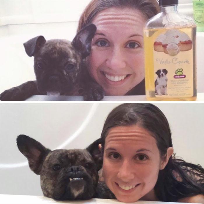 Many Ears Later , She Still Likes The Bath