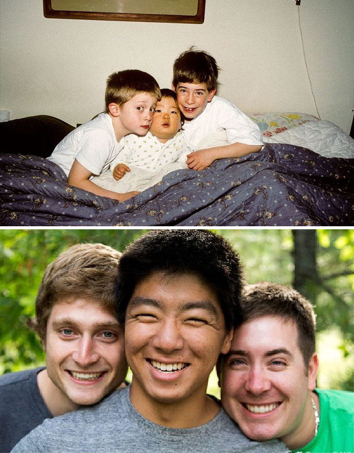 Me And My Brothers All Grown Up (18 Years Apart)