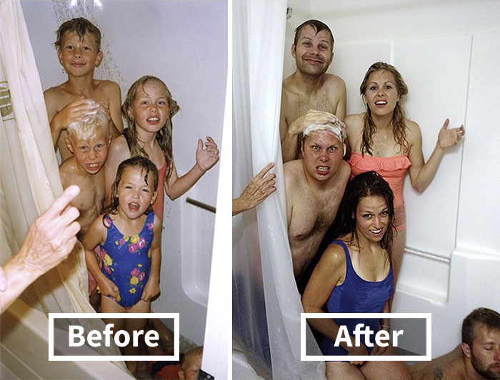 193 Siblings Who Hilariously Recreated Their Childhood Photos