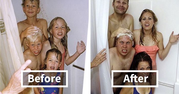 193 Siblings Who Hilariously Recreated Their Childhood Photos | Bored Panda