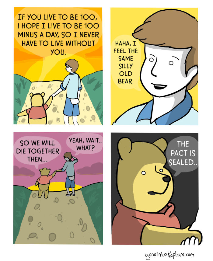 12 Gone Into Rapture Comics That Will Ruin Your Childhood.