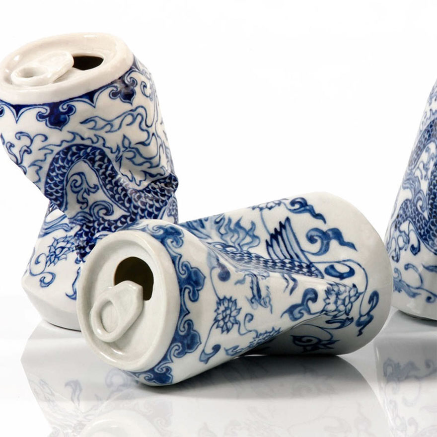 smashed-cans-sculptures-drinking-tea-lei-xue-2