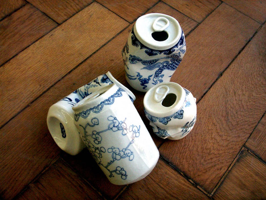 smashed-cans-sculptures-drinking-tea-lei-xue-5