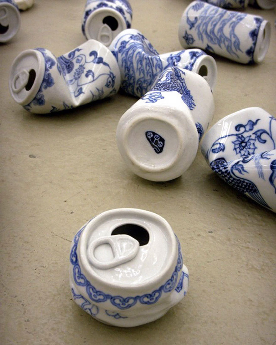 smashed-cans-sculptures-drinking-tea-lei-xue-6