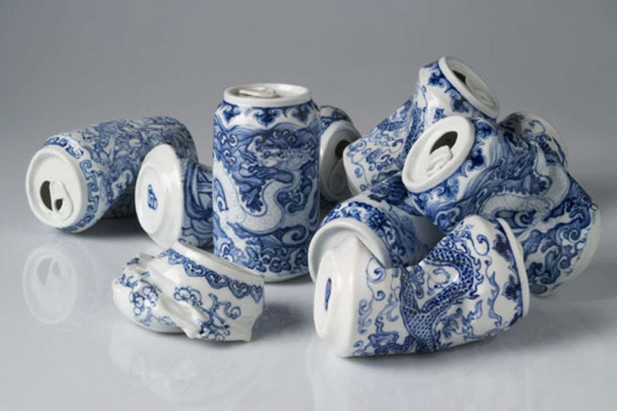 smashed-cans-sculptures-drinking-tea-lei-xue-8