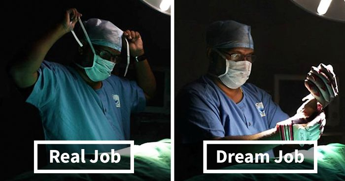 Powerful Photo Series Reveals People's Real Jobs Compared To What They Dreamed Of Becoming As Kids
