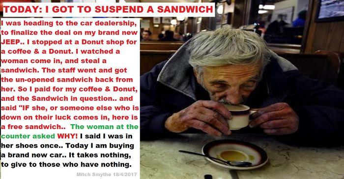 Suspended Sandwich