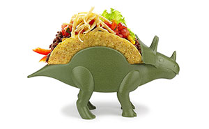 Prehistoric Triceratops Comes Back As A Taco Holder, And It's Perfect For Every Kitchen