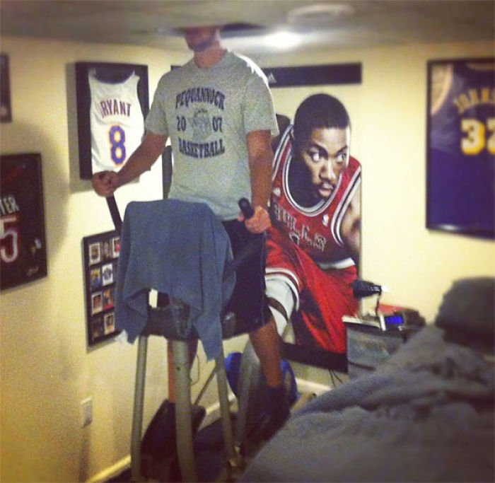 My Tall Friend's Solution To Using An Elliptical