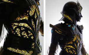 I Spent 518 Hours Making This Futuristic Medieval Armor That Is Lit From Inside And Flexible