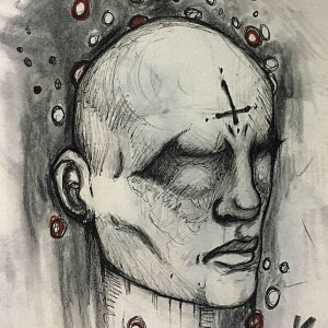 I Was Diagnosed With Schizophrenia At The Age Of 17, So I Started Drawing My Hallucinations To Cope With It