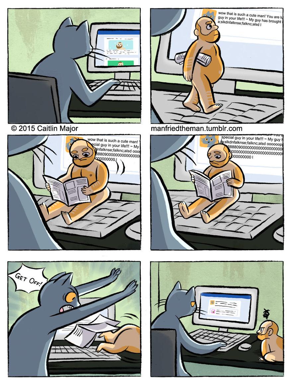 Manfried-the-man-comics