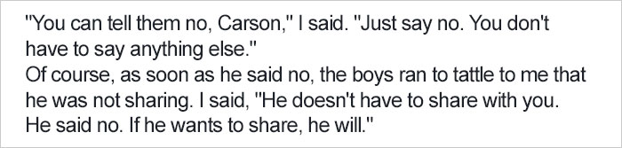 Mom's Explanation Why She Teaches Son Not To Share Gets Shared 207,000+ Times, Other Parents React