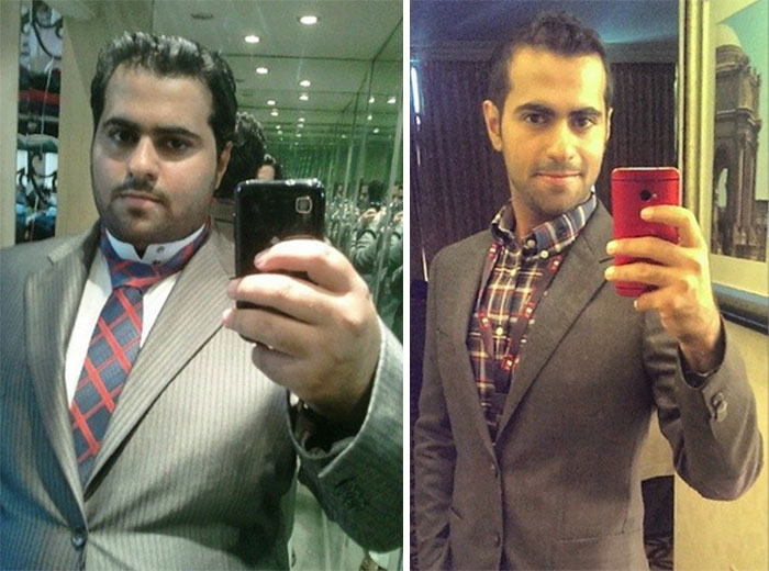 Before / After Weight Loss Pics. Suit-Up Edition (304 Lbs ->165 Lbs, 15 Months)