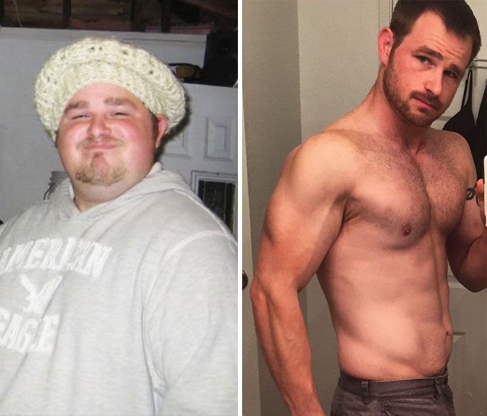 This Homeless Man, Who Gorged On 10,000 Calories A Day While Eating Only Fast Food, Lost 140 Lbs And Found Love