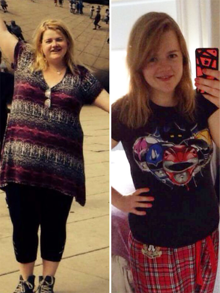 Incredible Before And After Weight Loss Photos Motivation weight loss before and after 48 59034592b8bec  700