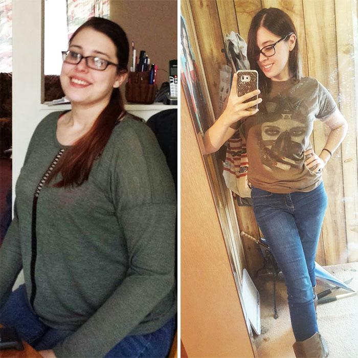 32 kilos menos