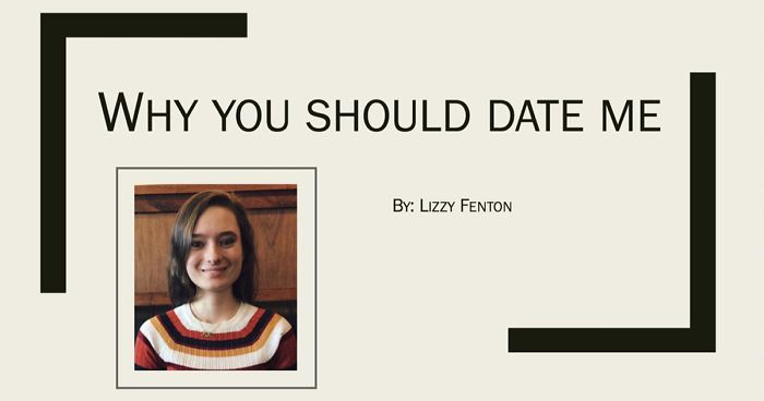 Woman Sends Detailed PowerPoint Presentation On Why Guy Should Date Her, But His Response Was Short